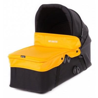 Baby Monster Carrycot with Lid - Mango