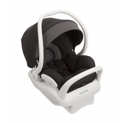 Maxi-Cosi Mico Max 30 Infant Car Seat - Devoted Black (White Collection)