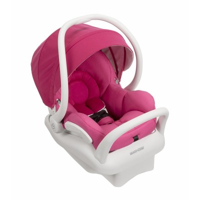 Maxi-Cosi Mico Max 30 Infant Car Seat - Pink Berry (White Collection)