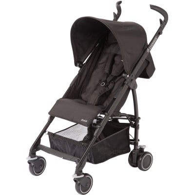 Maxi Cosi Kaia Lightweight Umbrella Stroller - Total Black