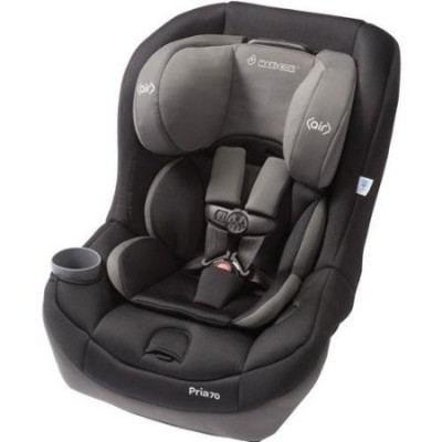 Maxi Cosi Pria 70 Convertible Car Seat - Total Black