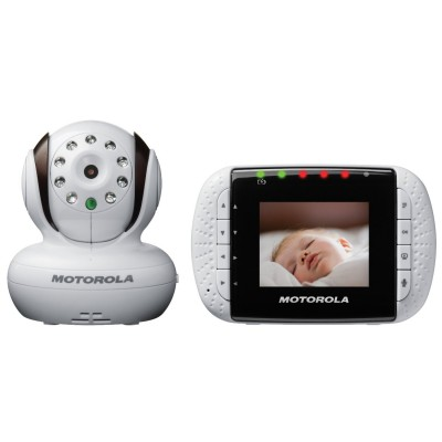 "Motorola Wireless Video Baby Monitor with Infrared Night Vision and Zoom 2.8"" Color LCD"