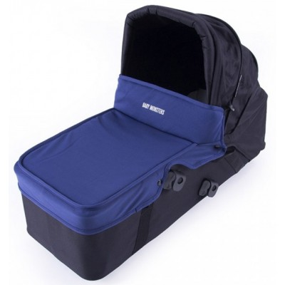 Baby Monster Carrycot with Lid - Midnight