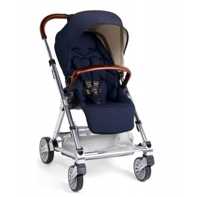 Mamas & Papas Urbo 2 Stroller with Leather Trim - Navy Blue