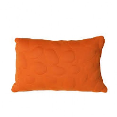 Nook Pebble orange pillow
