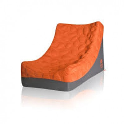 Nook Pebble Longer Mattress Poppy (Bright Orange)