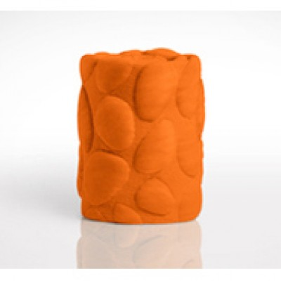 Nook Pebble Pure Wrap Mattress Poppy (Bright Orange)
