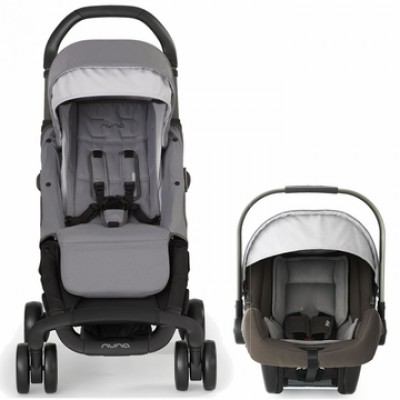2019 Nuna Travel System with Pepp Stroller and Pipa Lightweight Car Seat