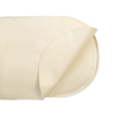 Naturepedic Organic Cotton Waterproof Protector Pad - Oval Bassinet Flat