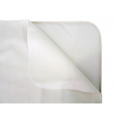 Naturepedic Organic Cotton Flannel Pad - Crib Flat