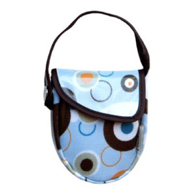 JJ Cole Collections Pacifier Pod - Blue Bubbles