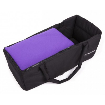 Baby Monster Carrycot without Lid - Purple
