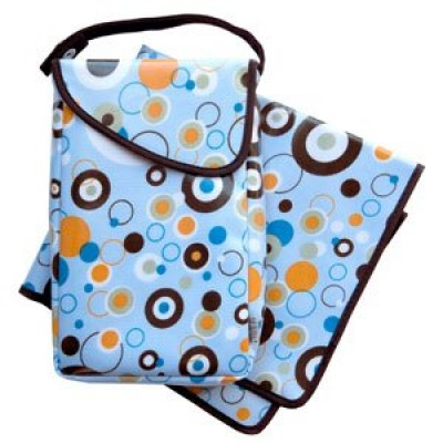 JJ Cole Collections Diapers & Wipes Pod - Blue Bubbles