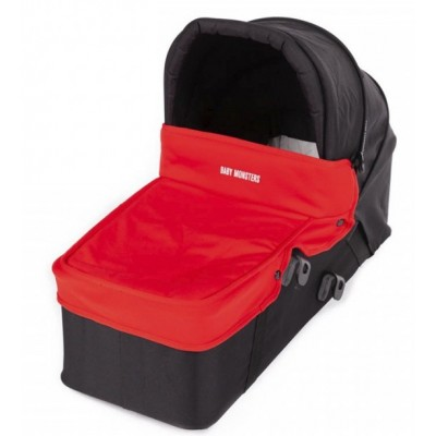 Baby Monster Carrycot with Lid - Red