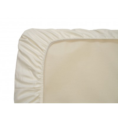 Naturepedic Organic Cotton Fitted Crib Sheets 3 Pack Invory