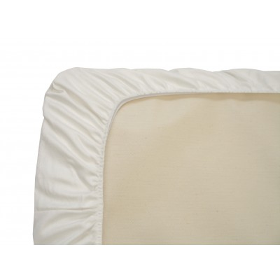 Naturepedic Organic Cotton Fitted Crib Sheets - 3 Pack White