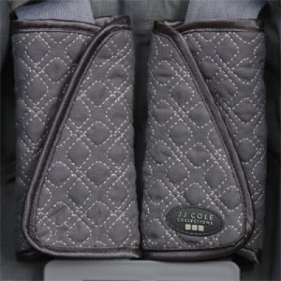 JJ Cole Collections Reversible Strap Covers - Graphite
