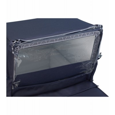 Silver Cross Rain Shield for Kensington Pram - Navy
