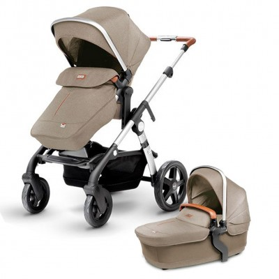 Silver Cross Wave Stroller - Linen (Wave Board Compatible)