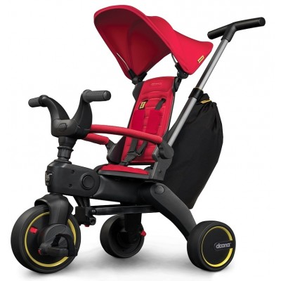 Doona Liki Trike S3-Bundle + T-Shirt - Flame Red