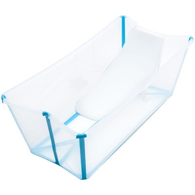 Stokke Flexi Bath with Newborn Support - Transparent