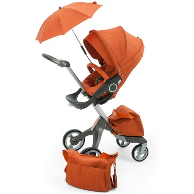 Stokke Xplory Stoller 3-in-1 Kit - Orange Melange
