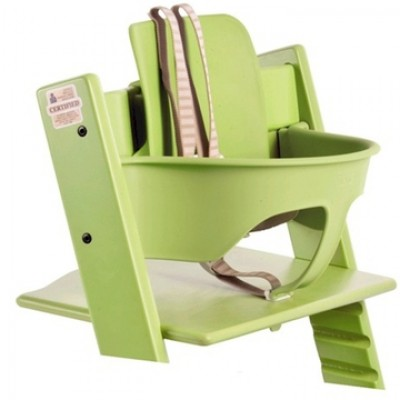 Stokke Tripp Trapp Baby to Adult High Chair with Tripp Trapp Baby Set - High Chairs & Booster ...