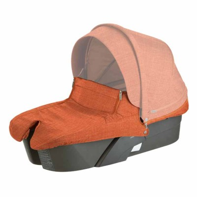 Stokke Xplory Carry Cot - Orange Melange