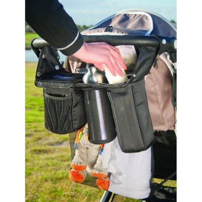 Valco Baby Deluxe Stroller Caddy with Freeze Gel Packs