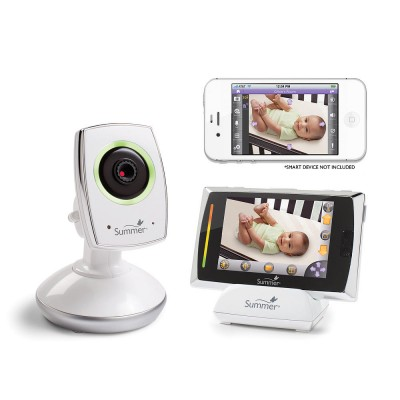 Summer Infant - Baby Touch WiFi Video Monitor Internet Viewing System
