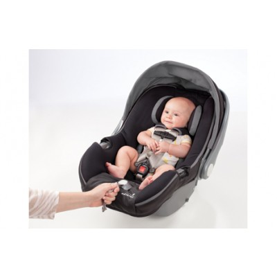 Summer Infant Prodigy Infant Car Seat with SmartScreen Technology - Blaze Black