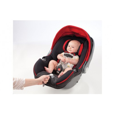 Summer Infant Prodigy Infant Car Seat with SmartScreen Technology - Jet Set Red