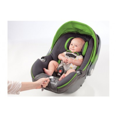 Summer Infant Prodigy Infant Car Seat with SmartScreen Technology - Mod Green