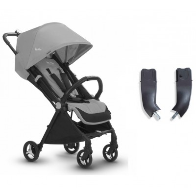 Silver Cross Jet Stroller and Car Seat Adapter Set - Sterling