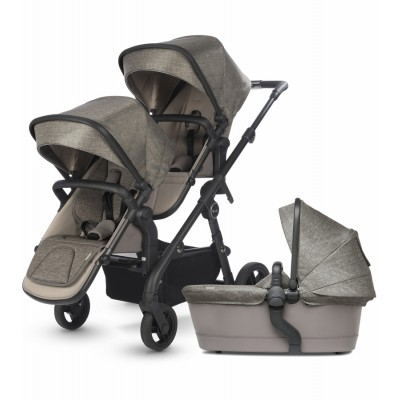 Silver Cross Coast Double Stroller Complete - Tundra