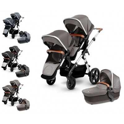 Silver Cross Wave Double Stroller