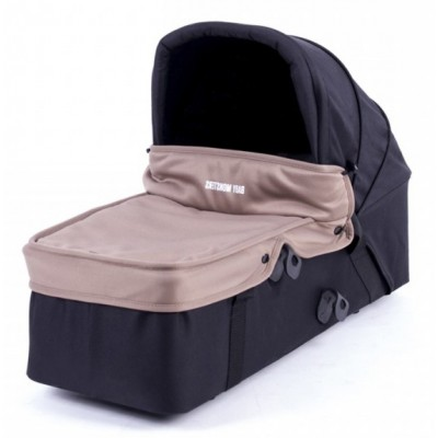Baby Monster Carrycot with Lid - Taupe