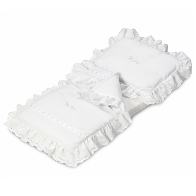 Silver Cross Dolls Pram Bedding Set