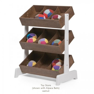Oeuf Utility & Storage Toy Store - Walnut