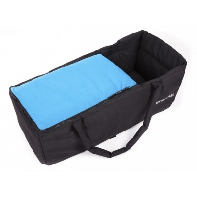 Baby Monster Carrycot without Lid - Turquoise