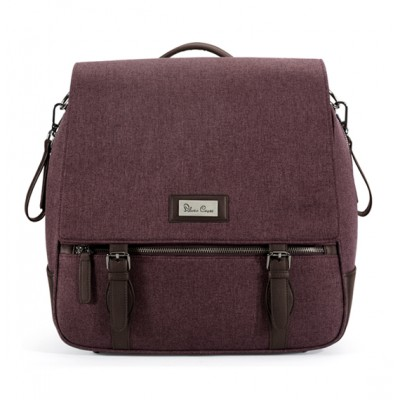 Silver Cross Wave Diaper Bag - Claret