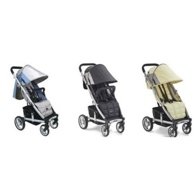 Valco Baby Zee Single Easy Push Single Stroller - Cloudless