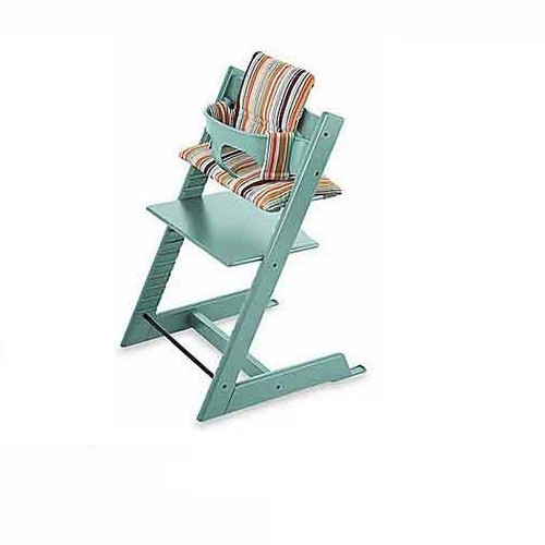 stokke tripp trapp high chair babyset in aqua blue. Black Bedroom Furniture Sets. Home Design Ideas