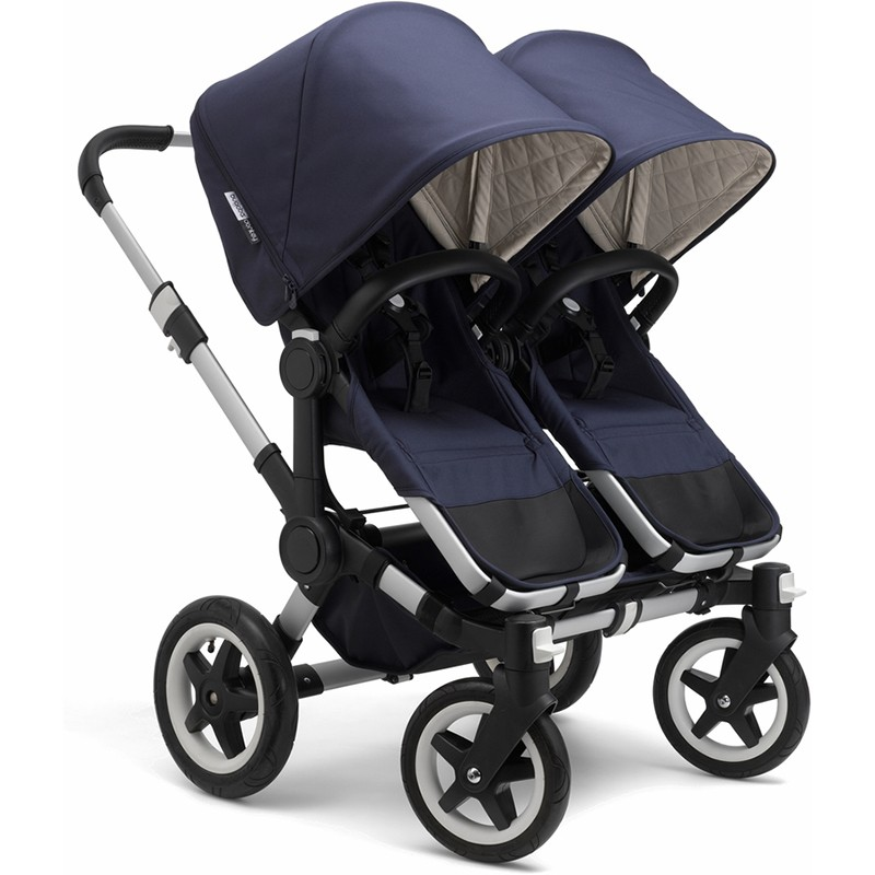 Bugaboo Donkey Classic Plus Twin Stroller Complete Free