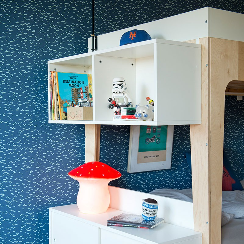 Oeuf Perch Bunk Bed Storage Shelving Unit