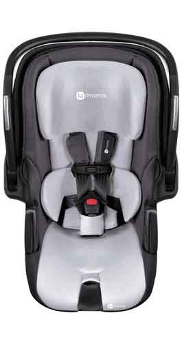 4Moms Infant Self Installing Car Seat Grey - Free Shipping - No Tax