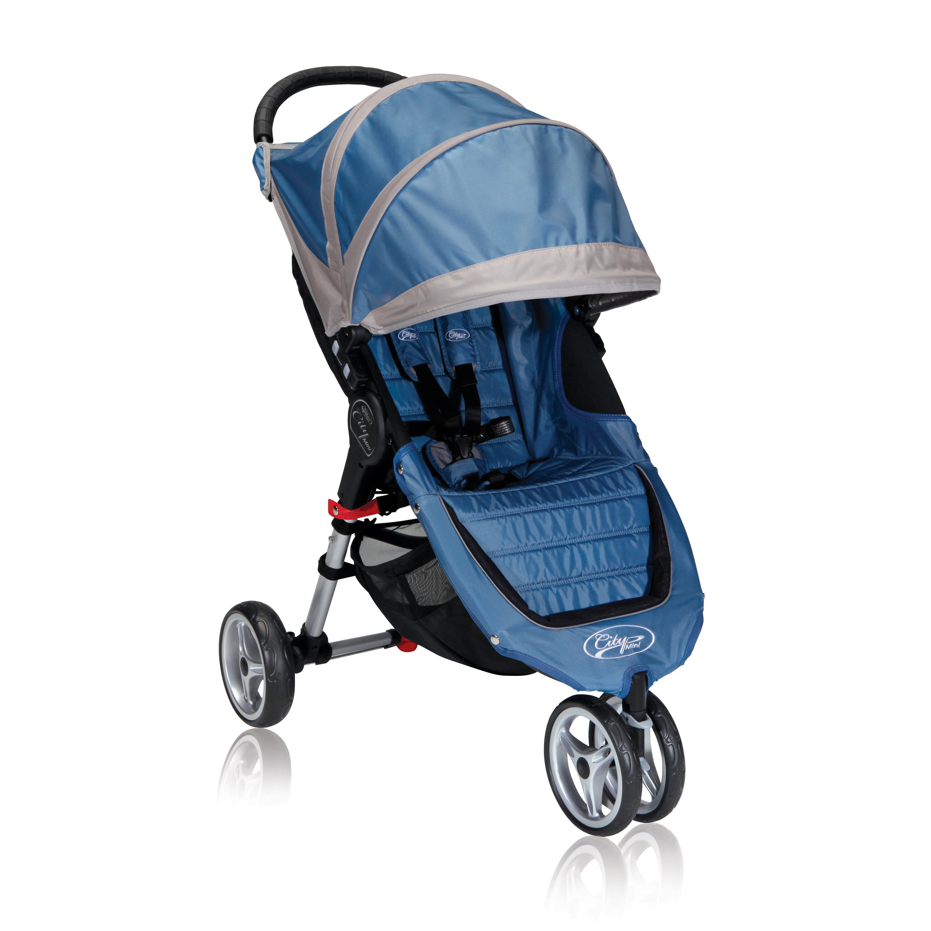 Jogger City Mini Lightweight Easy Fold Stroller Blue/Gray