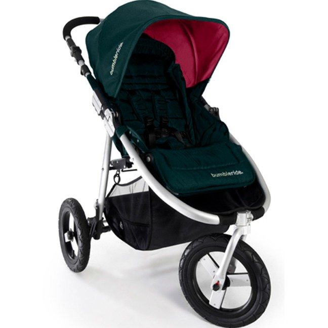 Bumbleride Indie Jogging Stroller in Lotus With Pink Canopy ...