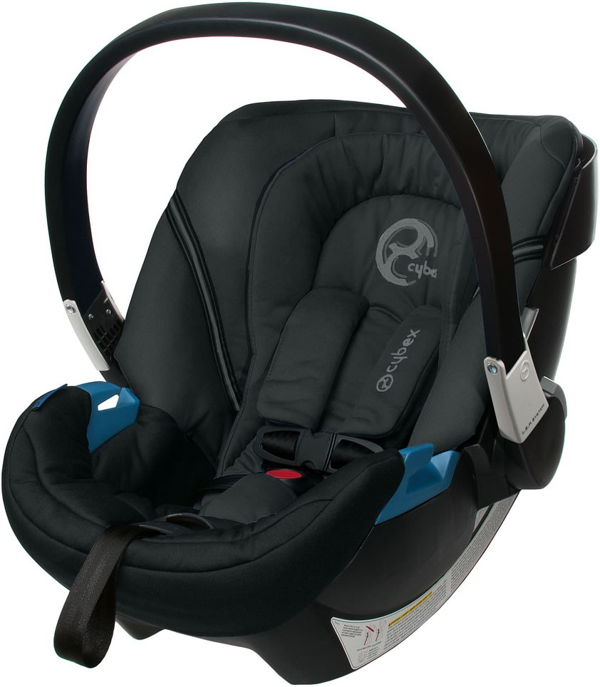 cybex aton 2 infant car seat classic black car seats. Black Bedroom Furniture Sets. Home Design Ideas