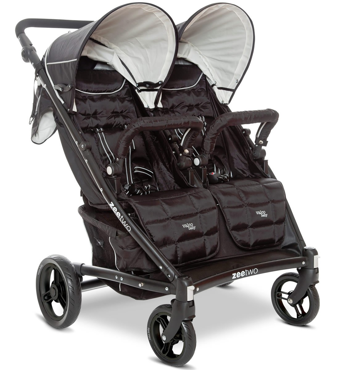 2014 Valco Baby Zee Two Double Stroller Double Strollers